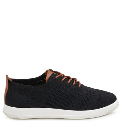 TENIS-FLOW-ROYAL-COMFORT-PRETO-